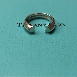 Tiffany & Co. Picasso Double Heat Ring size 5.5